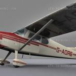 Cessna 170 3d model