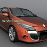Renault Megane III 3d model