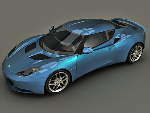 3dSkyHost: Lotus Evora 3d model