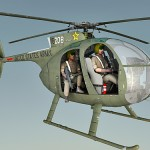 OH-6A 3d model