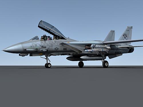 Grumman F-14 3d model