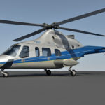 Bell 430 3d model