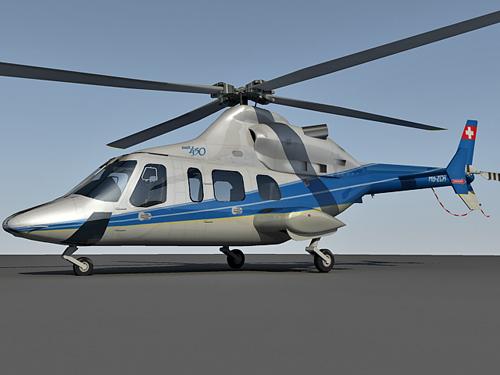 Bell 430a 3d model