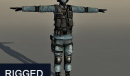 soldier_rigged_3dmodel