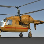 Kamov Ka-26 3d model