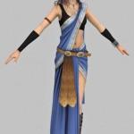 Fang 3D character