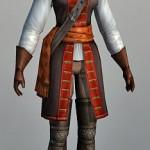 3D Character model