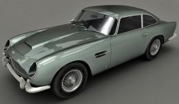 Aston Martin DB5 3d render