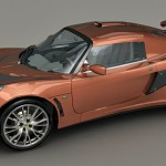 Lotus Exige 3d model
