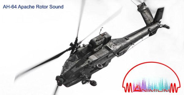 ah64 apache rotor sound
