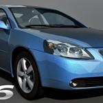 Pontiac G6 3d model