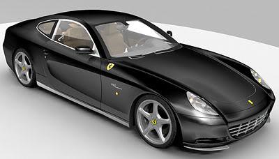 3dSkyHost: Ferrari 612 Scaglietti 3d model
