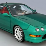Acura Integra Type R 3d model
