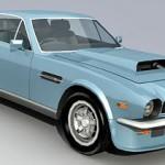 Aston Martin Vantage V8 3d model