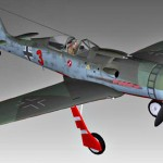 Fw190 Jagdverband 44 3d model
