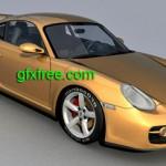 Porsche Cayman 3d model