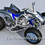 Yamaha YFZ 450 Quad bike