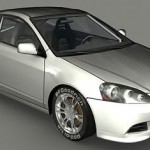 Acura RSX 3d model
