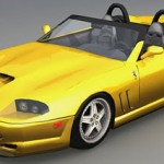 Ferrari 550 Barchetta 3d model