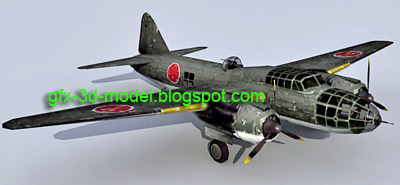 Mitsubishi G4M2A Betty – Aircraft model