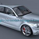 BMW 1 3d car model