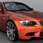BMW M3 e92 3d model