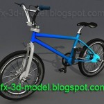 BMX Bicycle – 3d model