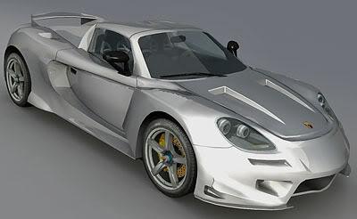 Porsche Carrera GT Tuned