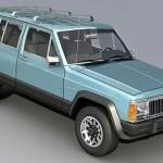 Cherokee Jeep 3d model