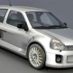 Renault Clio – Tuned 3d model