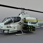 AH-1 Super Cobra 3d model