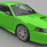Mustang CobraR – Lowpoly