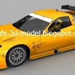 Chevrolet Corvette C5-R 3d model