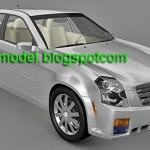 Cadillac CTS 3d model