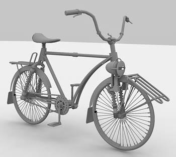 Cycle 3d model
