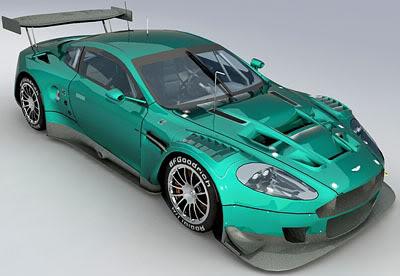 Aston Martin DBR9 – materials