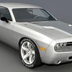 Dodge Challenger 2008 3d model