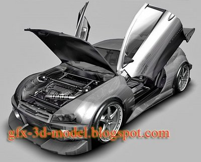 Exodus CD 9 XL car model