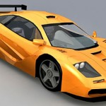 McLaren F1 LM – Lowpoly