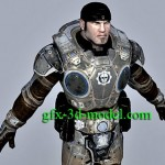 Game Character 03 – 3d model