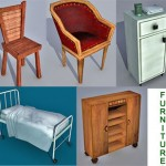 Lowpoly_Furnitures