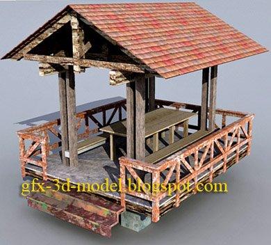 Garden House – Architecture model