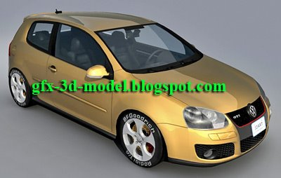 Volkswagen Golft GTI car model