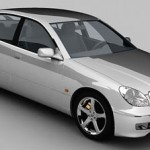 Lexus GS300 3d model
