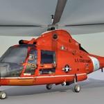 HH 65 Dolphin Coast Guard