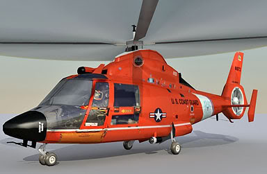 HH 65 Dolphin Coast Guard