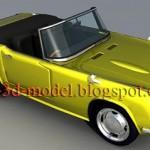 Honda S800 car model