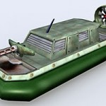 Lowpoly Hovercraft
