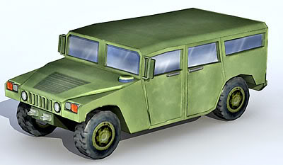 Lowpoly Hummer