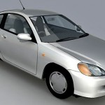 Honda Insight 3d model